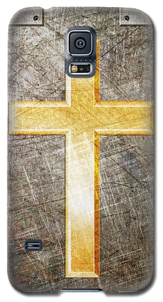 Gold And Silver Galaxy S5 Case