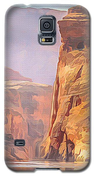 Gold Canyon River Galaxy S5 Case