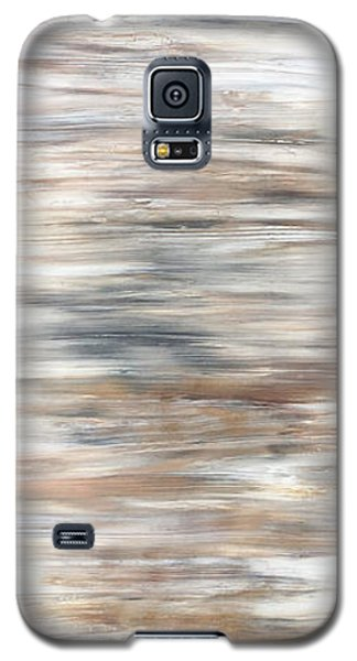 Gold Coast #20 Gold Landscape Original Fine Art Acrylic On Canvas Galaxy S5 Case