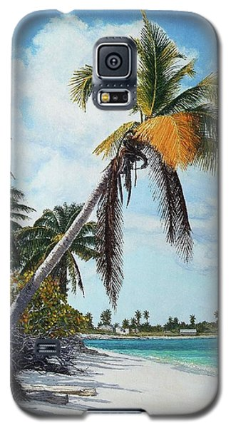 Gold Coconut Galaxy S5 Case
