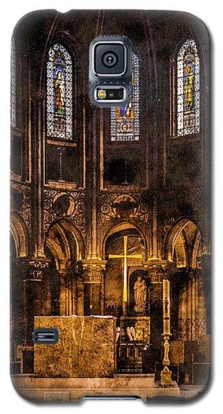 Paris, France - Gold Cross - St Germain Des Pres Galaxy S5 Case
