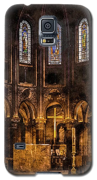 Paris, France - Gold Cross - St Germain Des Pres Galaxy S5 Case