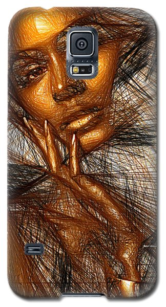 Gold Fingers Galaxy S5 Case