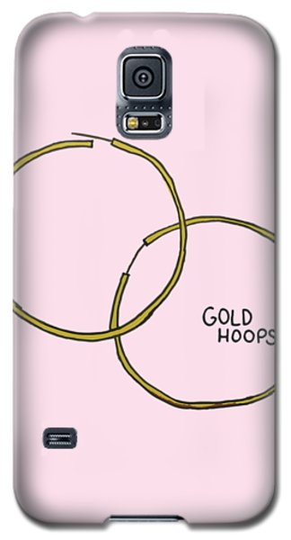 Gold Hoops Galaxy S5 Case