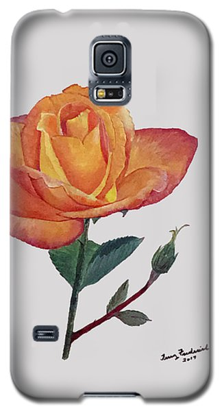 Gold Medal Rose Galaxy S5 Case