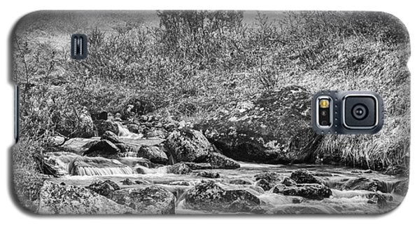 Gold Rush Mining Shack In The Alaskan Mountains Galaxy S5 Case