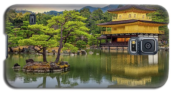 Galaxy S5 Case featuring the photograph Gold Temple,  by Rikk Flohr