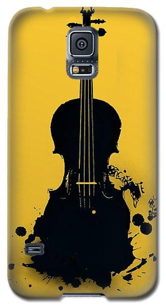 Gold Violin Galaxy S5 Case