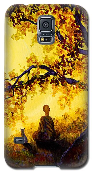 Golden Afternoon Meditation Galaxy S5 Case