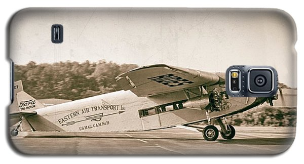 Golden Age Trimotor Galaxy S5 Case