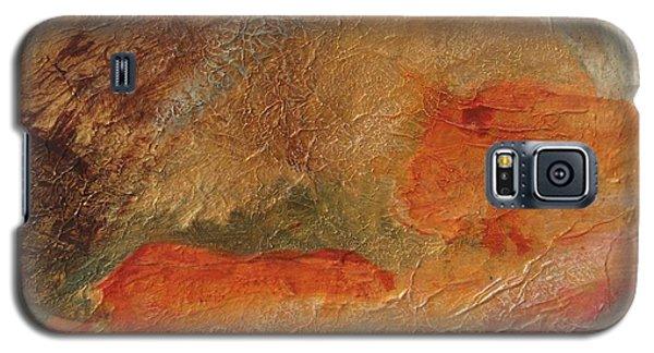 Golden Amber Galaxy S5 Case
