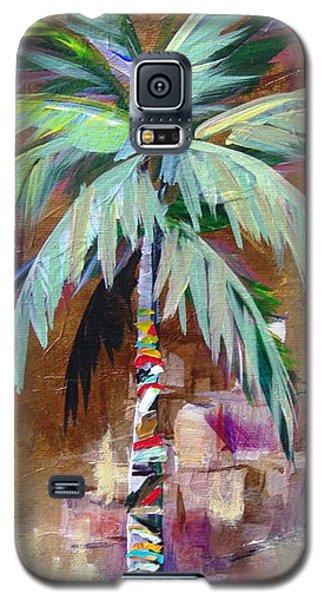 Golden Amethyst Palm Galaxy S5 Case