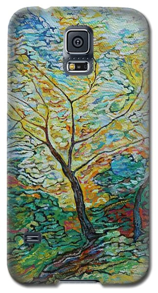 Golden Ash Trees 2 Galaxy S5 Case