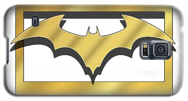 Golden Bat Galaxy S5 Case