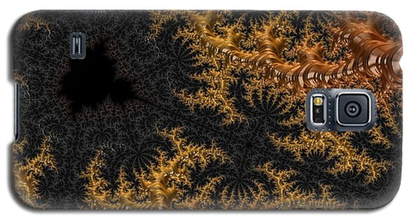 Golden Branching Moss Galaxy S5 Case