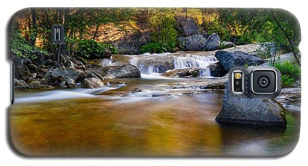 Golden Calm Galaxy S5 Case