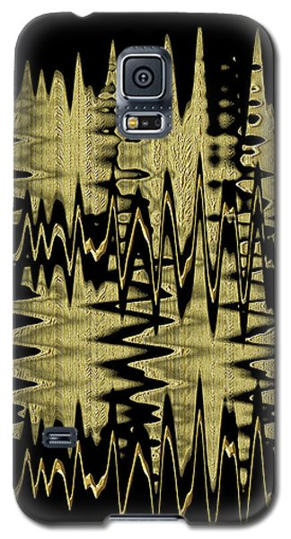 Golden Curves Galaxy S5 Case