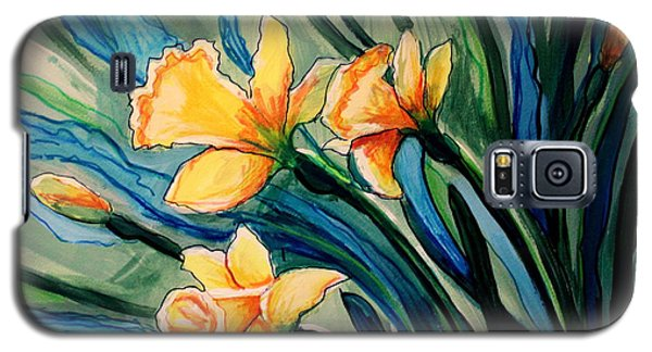 Golden Daffodils Galaxy S5 Case