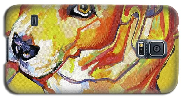 Golden Dog Galaxy S5 Case
