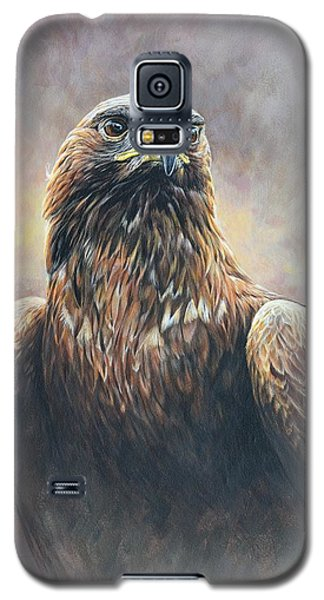 Golden Eagle Portrait Galaxy S5 Case