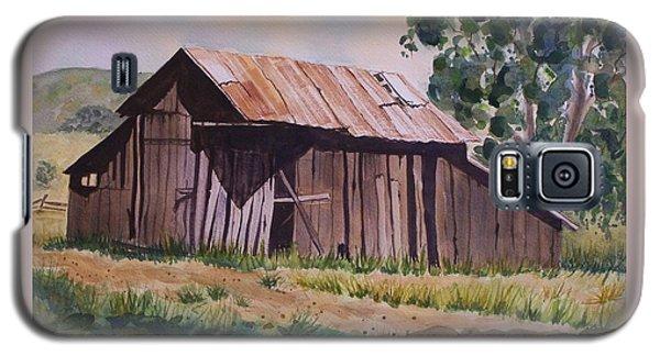 Golden Eagle Ranch Barn Galaxy S5 Case