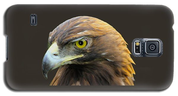 Golden Eagle Galaxy S5 Case by Shane Bechler