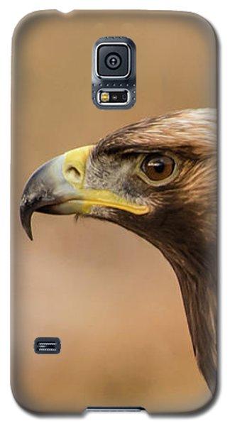 Golden Eagle's Portrait Galaxy S5 Case