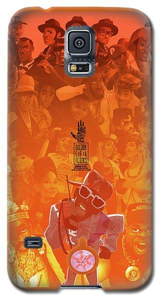 Golden Era Icons Collage 1 Galaxy S5 Case