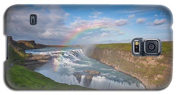 Golden Falls, Gullfoss Iceland Galaxy S5 Case