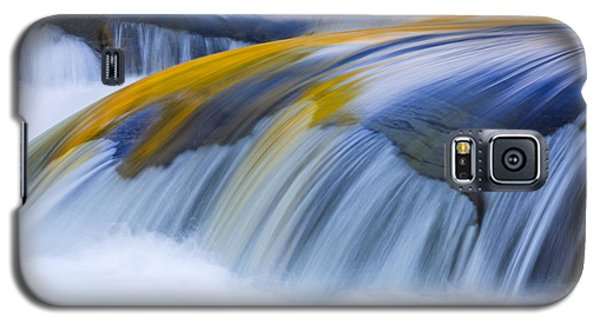 Golden Flow Galaxy S5 Case by Mike Lang