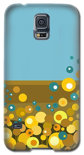 Golden  Flowers Galaxy S5 Case