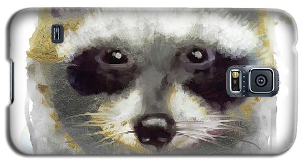 Golden Forest Raccoon  Galaxy S5 Case