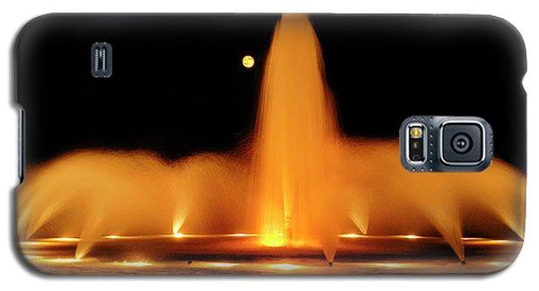 Golden Fountain Galaxy S5 Case