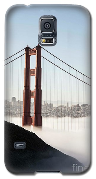 Galaxy S5 Case featuring the photograph Golden Gate And Marin Highlands by David Bearden