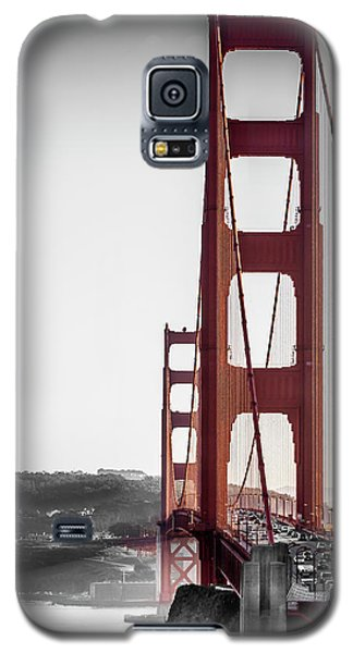 Golden Gate Black And Red Galaxy S5 Case