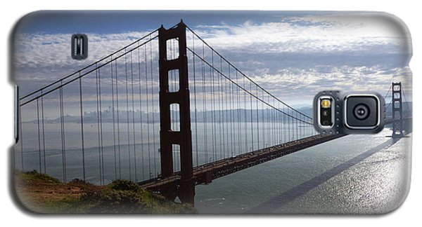 Galaxy S5 Case featuring the photograph Golden Gate Bridge-2 by Steven Spak