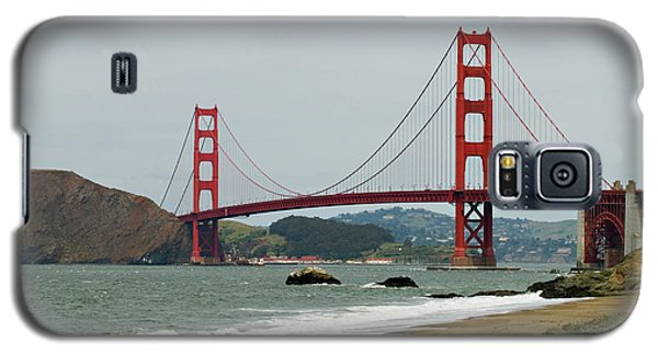 Golden Gate Bridge From Baker Beach Galaxy S5 Case
