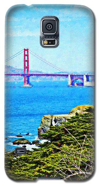 Golden Gate Bridge From The Coastal Trail Galaxy S5 Case