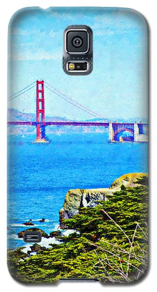 Golden Gate Bridge From The Coastal Trail Galaxy S5 Case