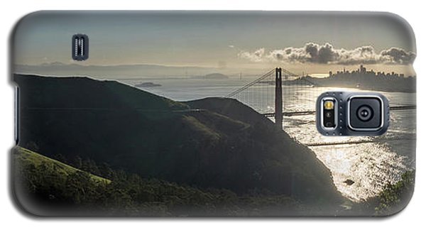 Golden Gate Bridge From The Road Up The Mountain Galaxy S5 Case