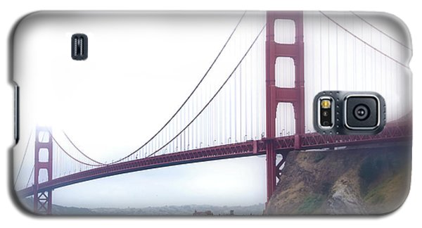 Galaxy S5 Case featuring the photograph Golden Gate Bridge by Laura DAddona