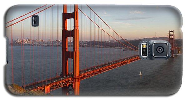 Galaxy S5 Case featuring the photograph Golden Gate Bridge by Nathan Rupert