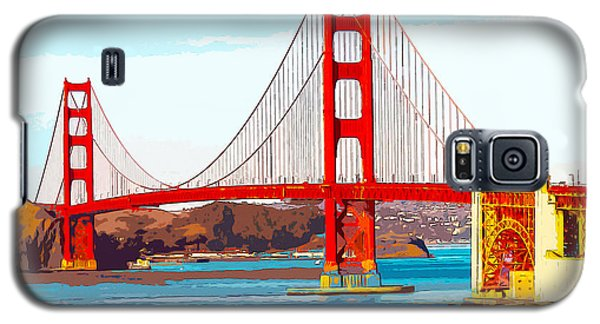 Golden Gate Bridge San Francisco The City By The Bay Galaxy S5 Case