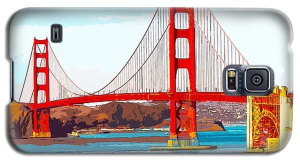 Golden Gate Bridge San Francisco The City By The Bay Galaxy S5 Case