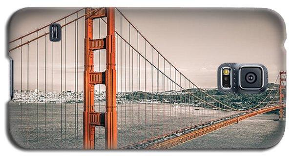 Golden Gate Bridge Selective Color Galaxy S5 Case