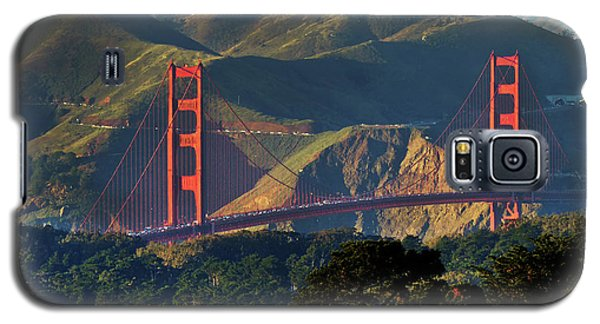 Galaxy S5 Case featuring the photograph Golden Gate Bridge by Steven Spak