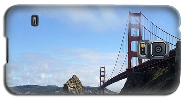 Galaxy S5 Case featuring the photograph Golden Gate Bridge by Sumoflam Photography