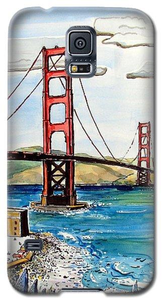 Golden Gate Bridge Galaxy S5 Case by Terry Banderas
