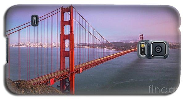 Golden Gate Bridge Twilight Galaxy S5 Case by JR Photography