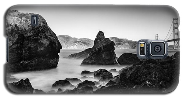 Golden Gate In Black And White Galaxy S5 Case